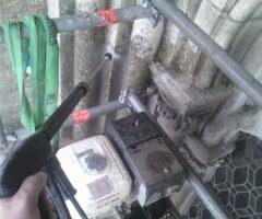 Nettoyage a haute pression